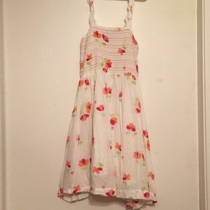 Other - NWOT Girls floral dress comfy 100% cotton size 10